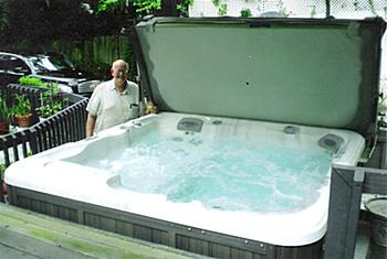 Hot tub maintanence